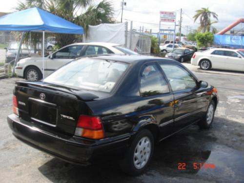 Photo Image Gallery & Touchup Paint: Toyota Tercel in Satin Black Metallic  (205)  YEARS: 1996-1998