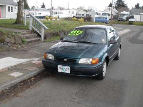 Photo Image Gallery & Touchup Paint: Toyota Tercel in Sierra Green Metallic  (6N7)  YEARS: 1995-1998