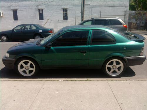photo image gallery touchup paint toyota tercel in sierra green metallic 6n7 toyotareference com