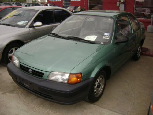 Photo Image Gallery & Touchup Paint: Toyota Tercel in Wild Mint Metallic  (6N8)  YEARS: 1995-1996