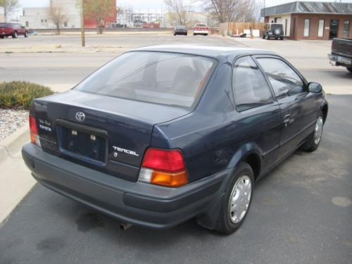 Photo Image Gallery & Touchup Paint: Toyota Tercel in Nightshadow Pearl   (8K0)  YEARS: 1995-1996