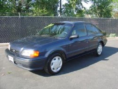 Photo Image Gallery & Touchup Paint: Toyota Tercel in Blue Velvet Pearl  (8L3)  YEARS: 1997-1997