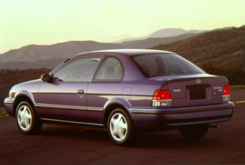 Photo Image Gallery & Touchup Paint: Toyota Tercel in Vista Blue Mica  (8M5)  YEARS: 1998-1998