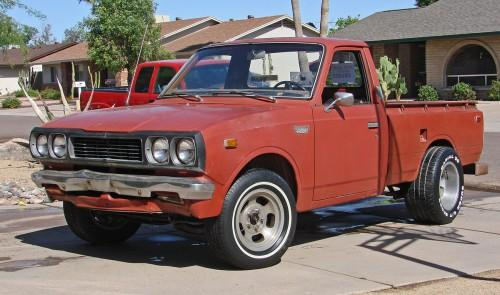 Photo Image Gallery & Touchup Paint: Toyota Truck in Red    (316)  YEARS: 1973-1974