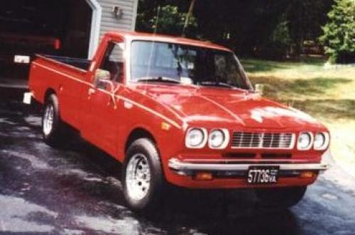 Photo Image Gallery & Touchup Paint: Toyota Truck in Red    (336)  YEARS: 1974-1978