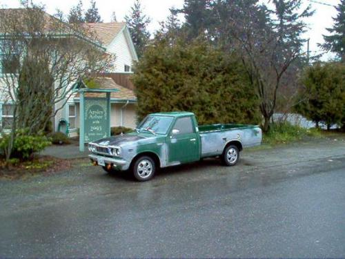 Photo Image Gallery & Touchup Paint: Toyota Truck in Deep Green   (632)  YEARS: 1972-1974