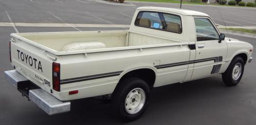 Photo Image Gallery & Touchup Paint: Toyota Truck in White    (030)  YEARS: 1979-1979