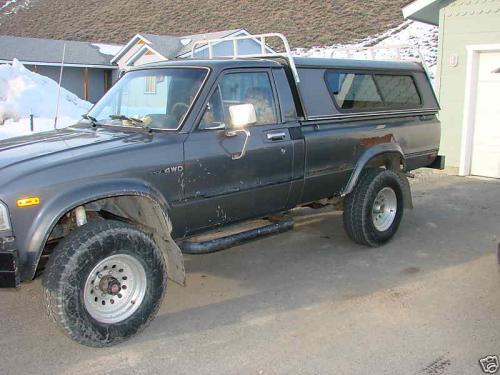 Photo Image Gallery & Touchup Paint: Toyota Truck in Dark Gray Metallic  (143)  YEARS: 1982-1983