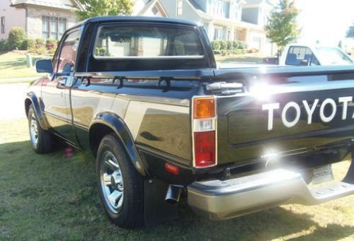 Photo Image Gallery & Touchup Paint: Toyota Truck in Gloss Black   (202)  YEARS: 1979-1983