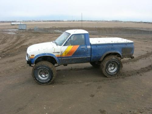 Photo Image Gallery & Touchup Paint: Toyota Truck in Blue White   (2A6)  YEARS: 1981-1982