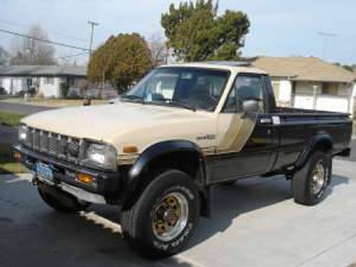 Photo Image Gallery & Touchup Paint: Toyota Truck in Beige Black   (2C6)  YEARS: 1982-1982