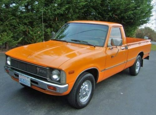 Photo Image Gallery & Touchup Paint: Toyota Truck in Orange    (358)  YEARS: 1979-1979