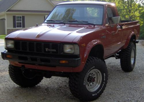 Photo Image Gallery & Touchup Paint: Toyota Truck in Terra Cotta   (3A7)  YEARS: 1983-1983