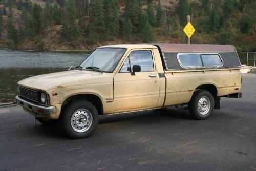 Photo Image Gallery & Touchup Paint: Toyota Truck in Beige    (489)  YEARS: 1979-1981