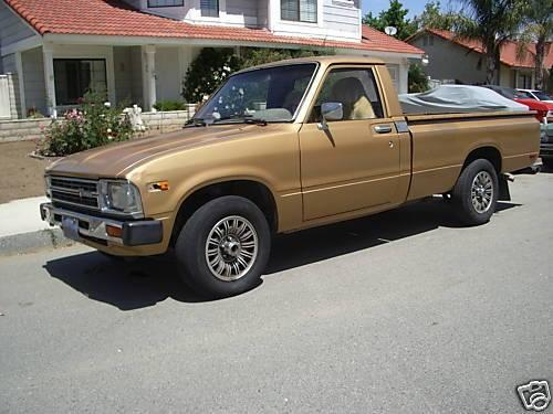 Photo Image Gallery & Touchup Paint: Toyota Truck in Beige Metallic   (4A6)  YEARS: 1983-1983