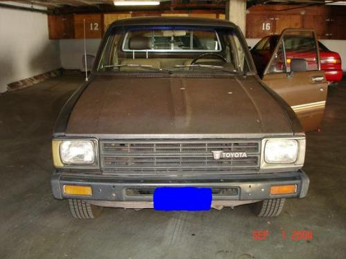Photo Image Gallery & Touchup Paint: Toyota Truck in Brown Metallic   (4B4)  YEARS: 1982-1983