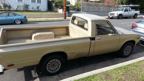 Photo Image Gallery & Touchup Paint: Toyota Truck in Gold Metallic   (4C3)  YEARS: 1983-1983