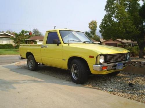 Photo Image Gallery & Touchup Paint: Toyota Truck in Yellow    (541)  YEARS: 1979-1982