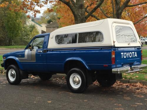 Photo Image Gallery & Touchup Paint: Toyota Truck in Medium Blue   (857)  YEARS: 1979-1982
