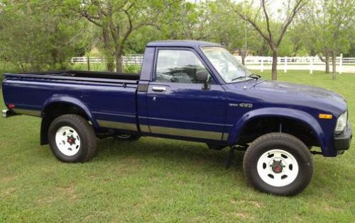 Photo Image Gallery & Touchup Paint: Toyota Truck in Blue    (8A1)  YEARS: 1983-1983