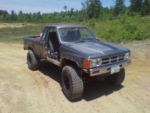 Photo Image Gallery & Touchup Paint: Toyota Truck in Dark Gray Metallic  (143)  YEARS: 1984-1988