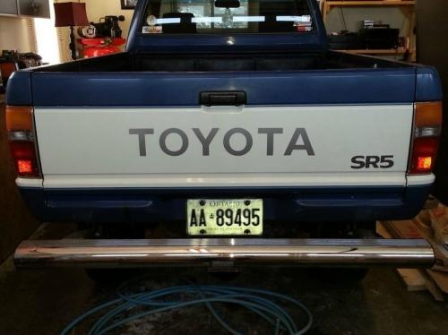 Photo Image Gallery & Touchup Paint: Toyota Truck in Blue White   (2C7)  YEARS: 1984-1984
