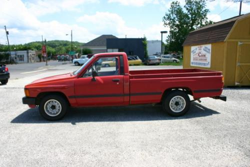 Photo Image Gallery & Touchup Paint: Toyota Truck in Red    (3F3)  YEARS: 1984-1985