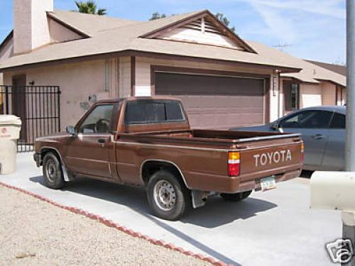Photo Image Gallery & Touchup Paint: Toyota Truck in Brown Metallic   (4A7)  YEARS: 1986-1988