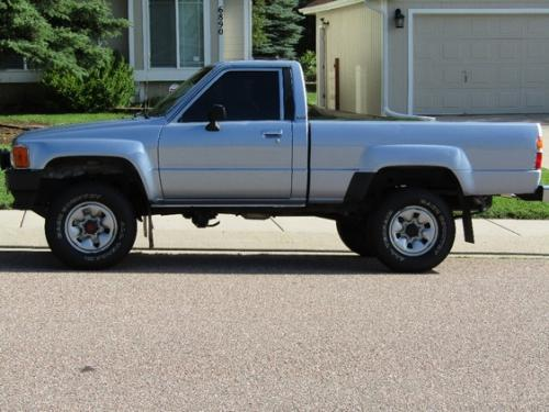 Photo Image Gallery & Touchup Paint: Toyota Truck in Light Blue Metallic  (8C4)  YEARS: 1985-1988