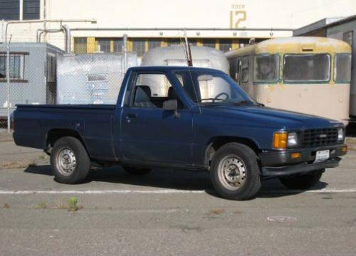 Photo Image Gallery & Touchup Paint: Toyota Truck in Medium Blue Metallic  (8D7)  YEARS: 1988-1988