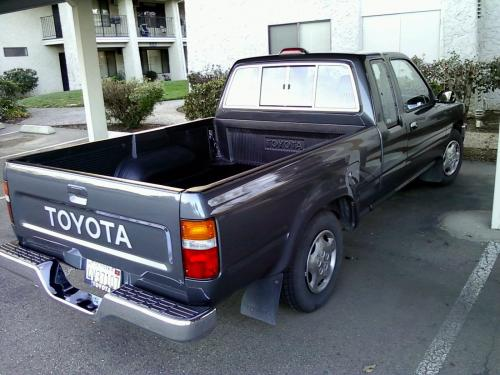 Photo Image Gallery & Touchup Paint: Toyota Truck in Dark Gray Metallic  (179)  YEARS: 1989-1995
