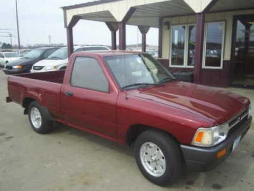 Photo Image Gallery & Touchup Paint: Toyota Truck in Medium Red Pearl  (3H4)  YEARS: 1989-1991