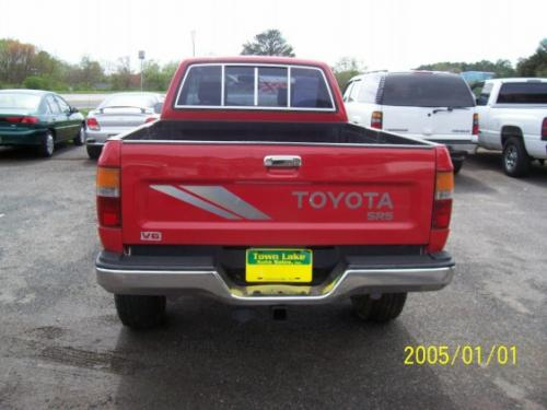 Photo Image Gallery & Touchup Paint: Toyota Truck in Cardinal Red   (3H7)  YEARS: 1989-1995