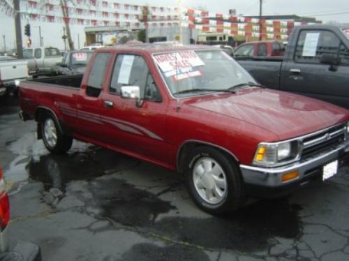Photo Image Gallery & Touchup Paint: Toyota Truck in Garnet Pearl   (3K3)  YEARS: 1992-1995