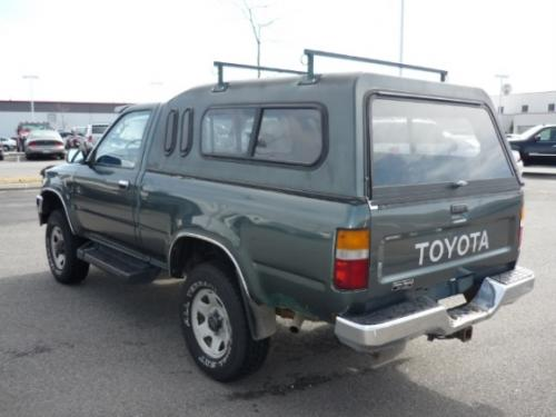 Photo Image Gallery & Touchup Paint: Toyota Truck in Forest Green Metallic  (6J7)  YEARS: 1992-1993