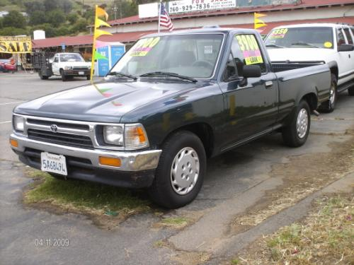 Photo Image Gallery & Touchup Paint: Toyota Truck in Evergreen Pearl   (751)  YEARS: 1994-1995