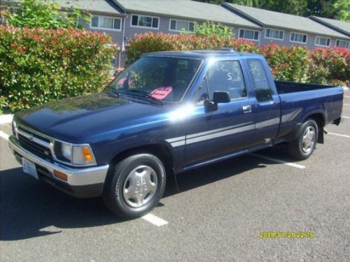 Photo Image Gallery & Touchup Paint: Toyota Truck in Dark Blue Pearl  (8E3)  YEARS: 1991-1995