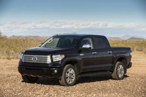 Photo Image Gallery & Touchup Paint: Toyota Tundra in Attitude Black Metallic  (218)  YEARS: 2014-2018