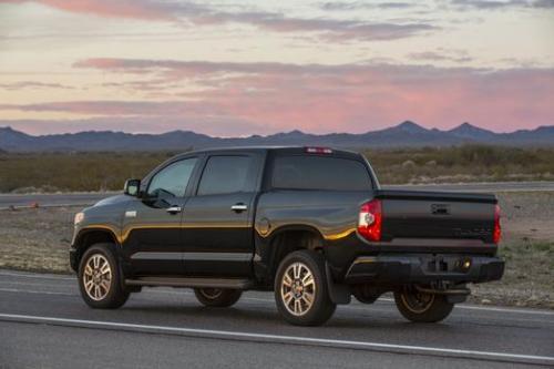 Photo Image Gallery & Touchup Paint: Toyota Tundra in Attitude Black Metallic  (218)  YEARS: 2014-2018