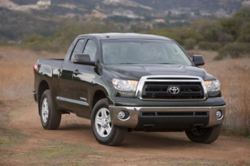 Photo Image Gallery & Touchup Paint: Toyota Tundra in Spruce Mica   (6V4)  YEARS: 2010-2013