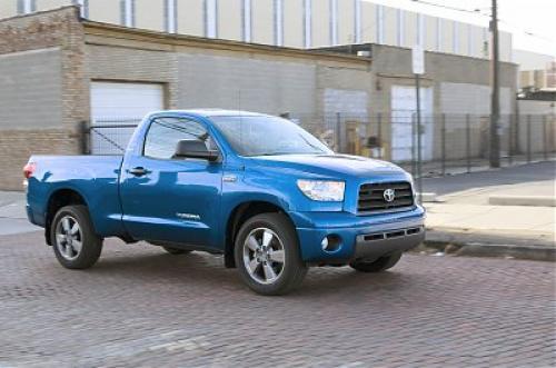 Photo Image Gallery & Touchup Paint: Toyota Tundra in Blue Streak Metallic  (8T7)  YEARS: 2007-2010