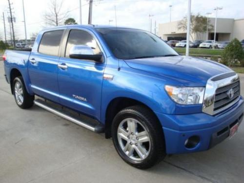 Photo Image Gallery & Touchup Paint: Toyota Tundra in Blue Streak Metallic  (8T7)  YEARS: 2007-2010