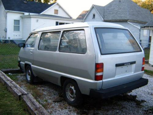 Photo Image Gallery & Touchup Paint: Toyota Van in Silver Metallic   (148)  YEARS: 1984-1989