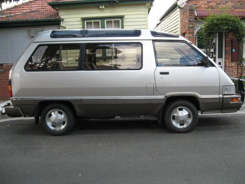 Photo Image Gallery & Touchup Paint: Toyota Van in Beige Brown   (2X8)  YEARS: 1986-1986