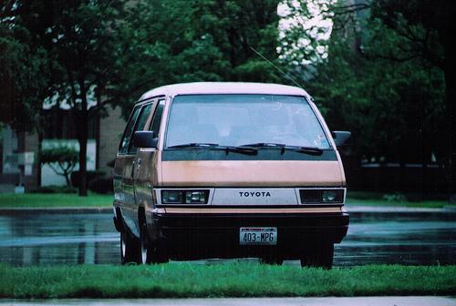 Photo Image Gallery & Touchup Paint: Toyota Van in Beige Metallic   (3D4)  YEARS: 1985-1985
