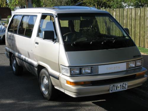 Photo Image Gallery & Touchup Paint: Toyota Van in Light Beige Metallic  (4D2)  YEARS: 1986-1988