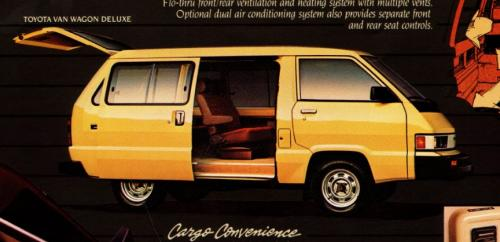 Photo Image Gallery & Touchup Paint: Toyota Van in Light Yellow   (558)  YEARS: 1984-1984