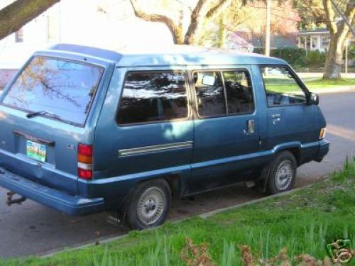 Photo Image Gallery & Touchup Paint: Toyota Van in Blue Metallic   (8A9)  YEARS: 1985-1985