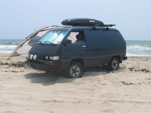 Photo Image Gallery & Touchup Paint: Toyota Van in Blue Metallic   (8B5)  YEARS: 1987-1987