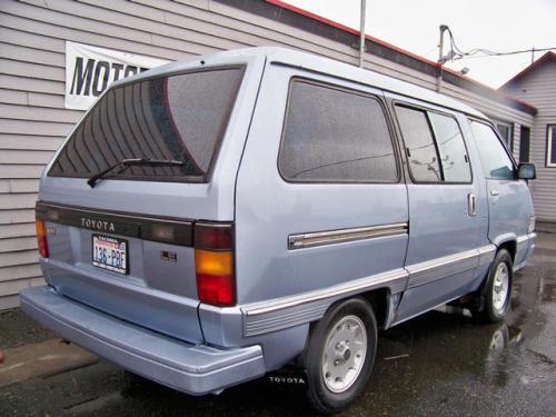 Photo Image Gallery & Touchup Paint: Toyota Van in Light Blue Metallic  (8D8)  YEARS: 1988-1989